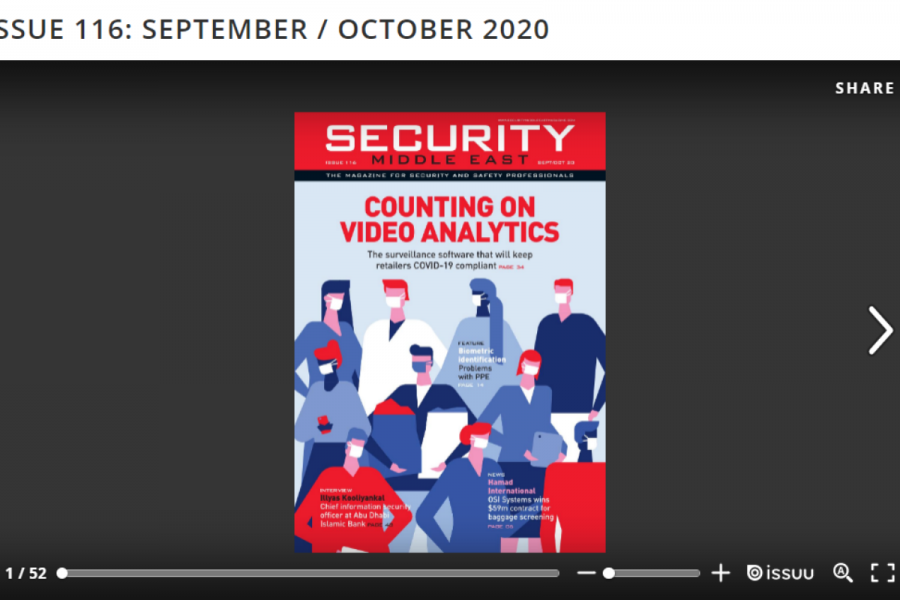 Security Middle East's Sep/ Oct Issue - Read it now logo